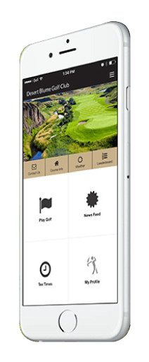Desert Blume Golf Club App
