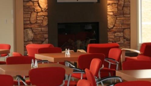 Desert Blume Golf Club restaurant clubhouse