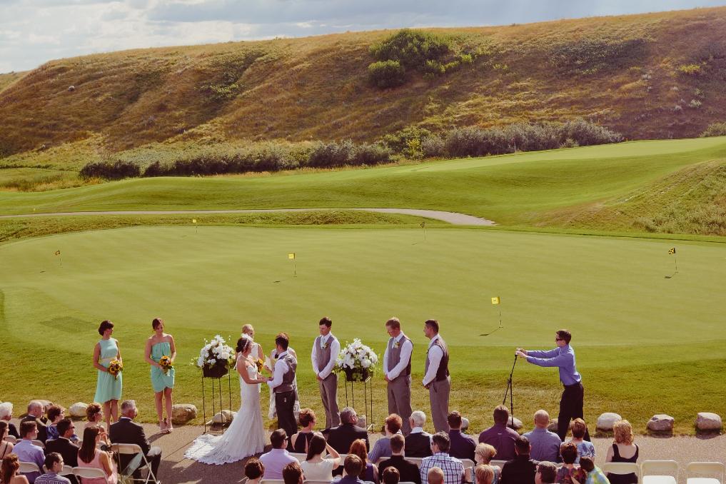 Desert Blume Golf Club wedding