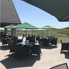 Desert Blume Golf patio