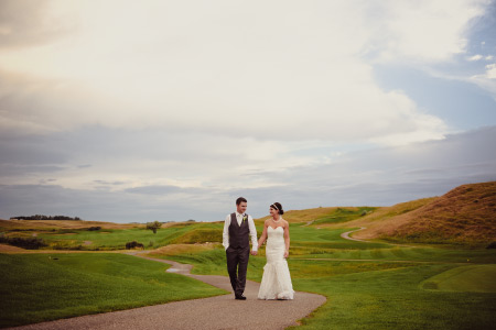 Desert Blume Golf wedding